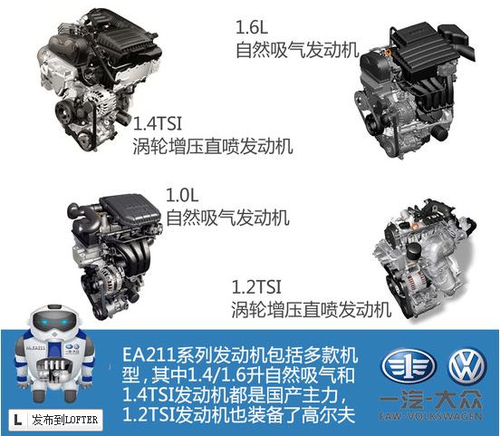 大众2015速腾配ea211发动机功率多大