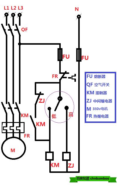 水位开关原理_一台380v电机,交流接触器,热继电器,浮球开关控制排水,水位低自停接线