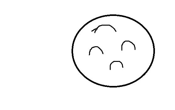 正看是一个哭脸 反看是一个笑脸的图片