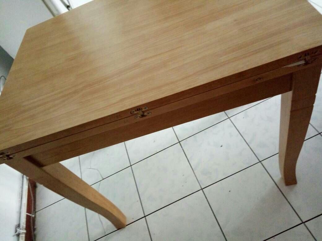 那种折叠桌子怎么打开图片