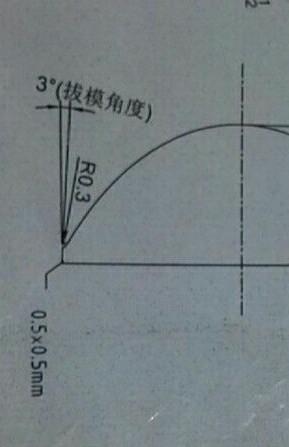 CAD图纸中,倒角标注是0.5×0.5mm是意思图纸之后明日npc图片