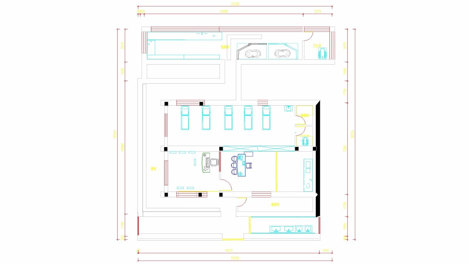 CAD图共享知道后图纸上多出一个框_百度打印出来单车cad图纸图片