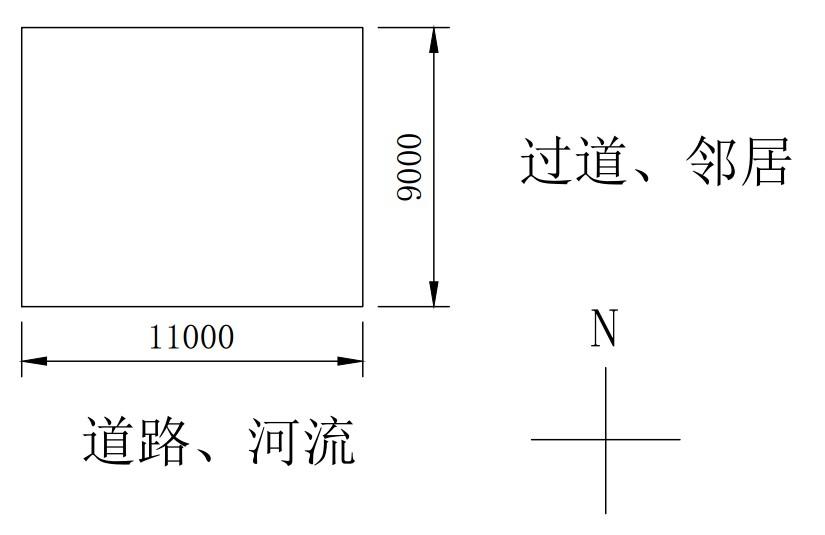 求11米*9米的房屋设计图