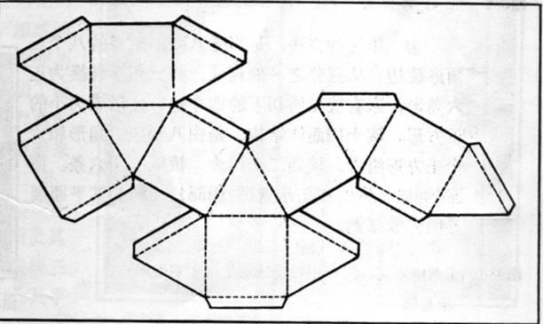 下图是一个立体图形的表面展开图,则该立体图形的名称图片