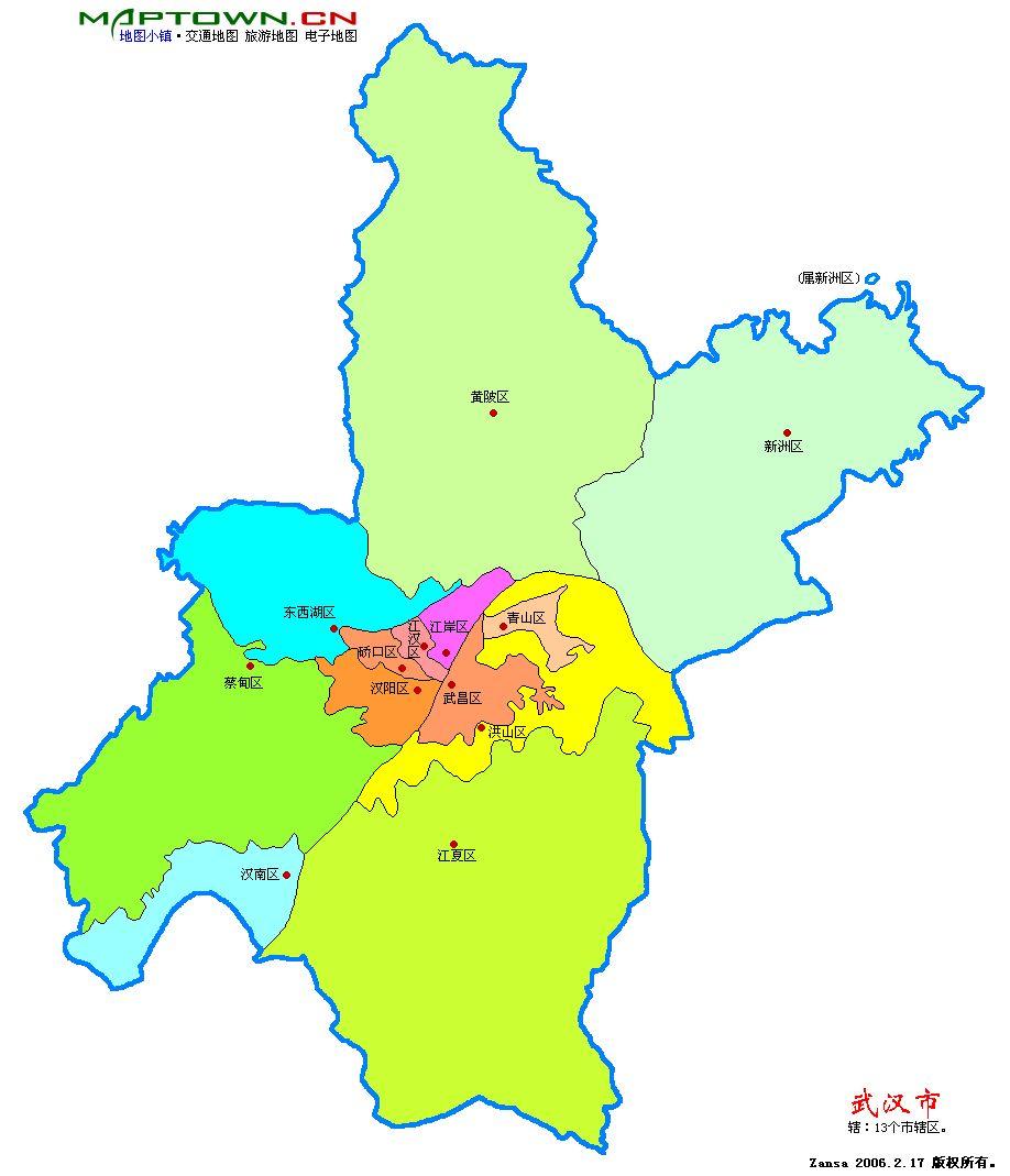 请问武汉东西湖经济技术开发区在哪里,离武汉市区多远图片