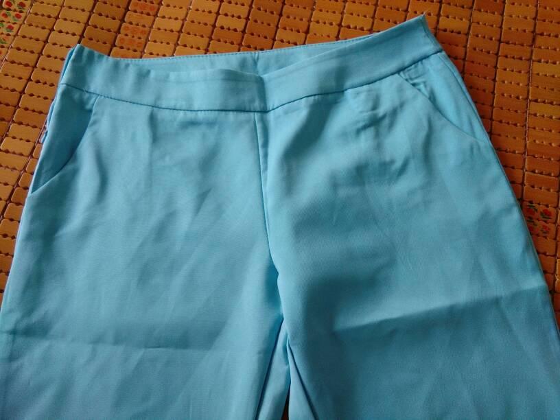新买了一套衣服裤子有点肥怎么改
