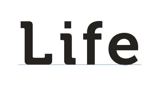 σν像这种字体我想要life.这个词的.谢谢哇图片