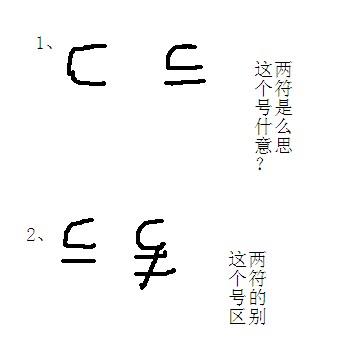数学符����9�$9�9f�j_数学符号的问题,关于一些数学集合上的符号