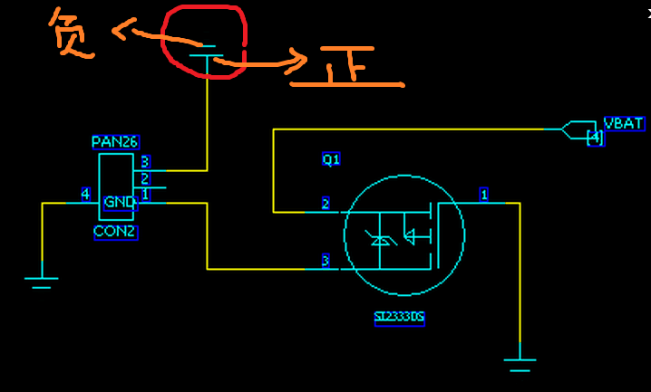 电路中表示电源的符号可以分出正负极吗