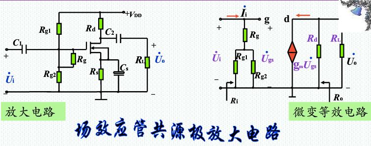 场效应管的微变等效电路图