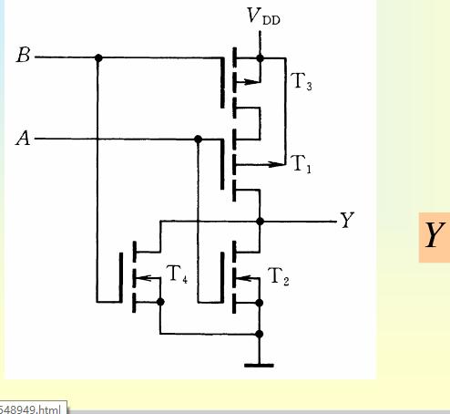 数字逻辑 门电路怎样看出是与还是或门