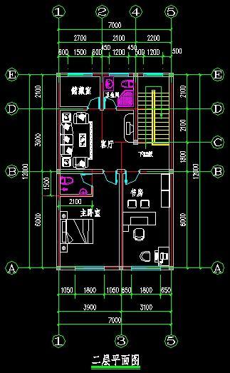 农村一层房屋80到100平米左右怎么设计?图片