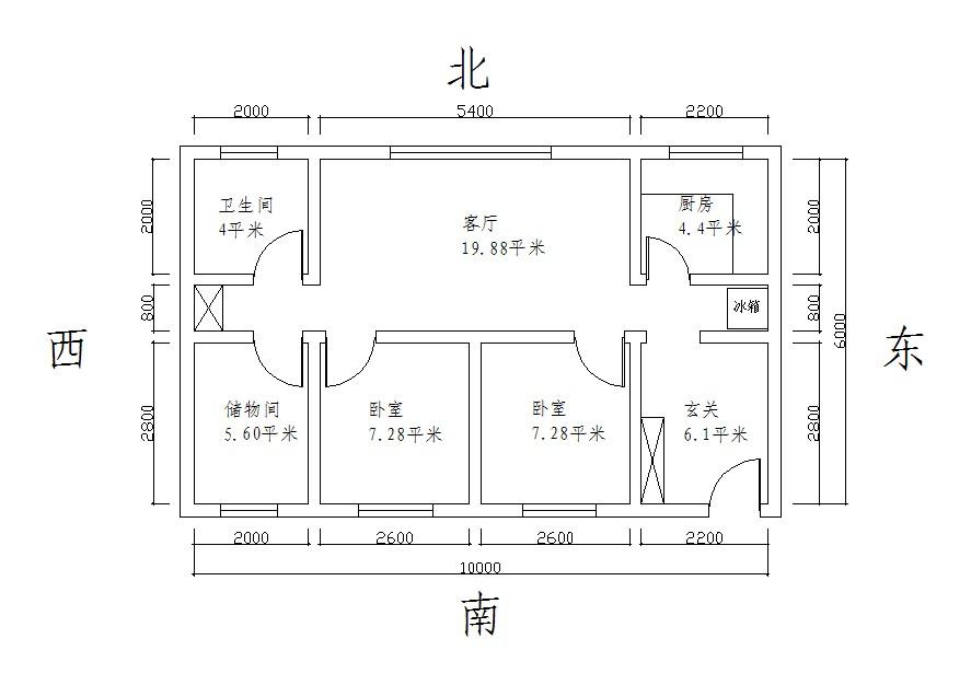 房间电路设计图