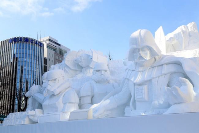 札幌冰雪节的节日组织图片