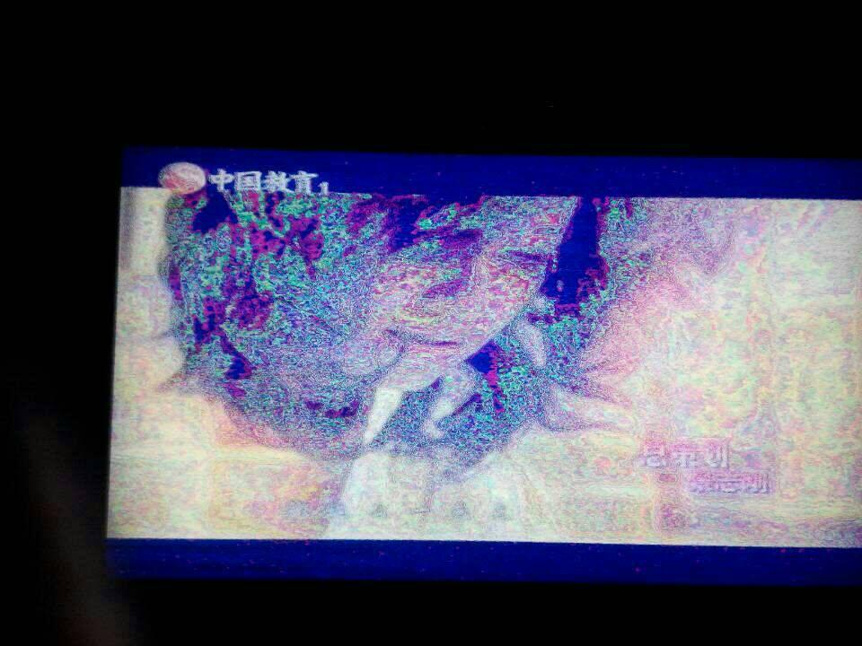 液晶电视出现花屏是怎么了?