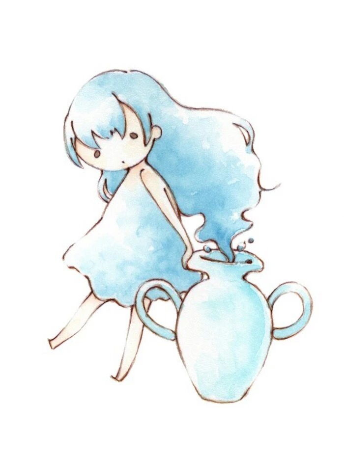 水瓶座动漫人物图片
