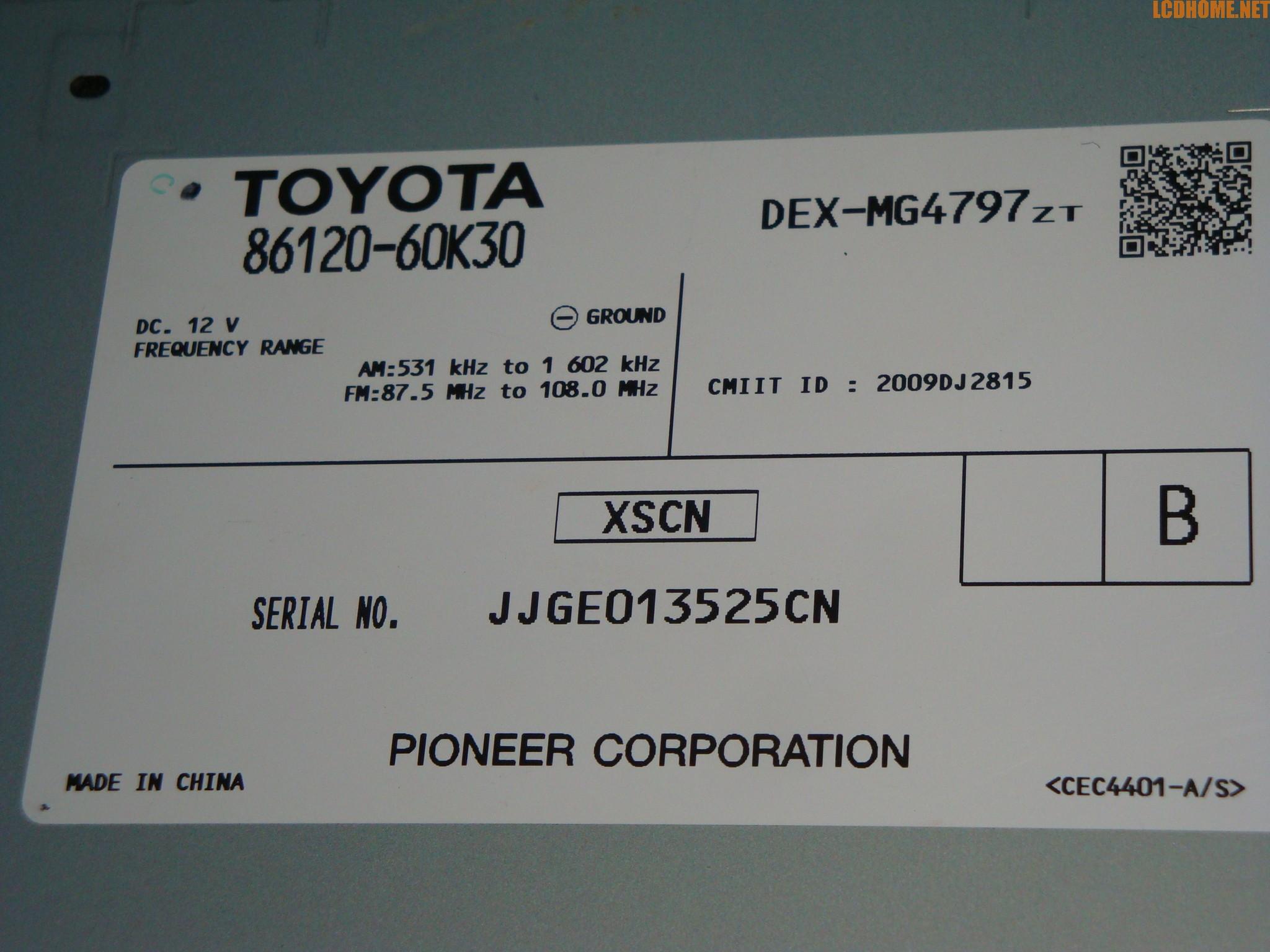 求解丰田霸道原装cd机接线图,机盒型号86120-60k30,高分悬赏,要求每一