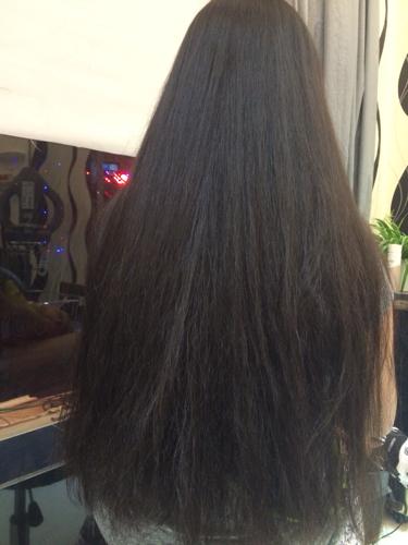 头发这么长 是洗直好还是拉直好 洗直能维持多长时间