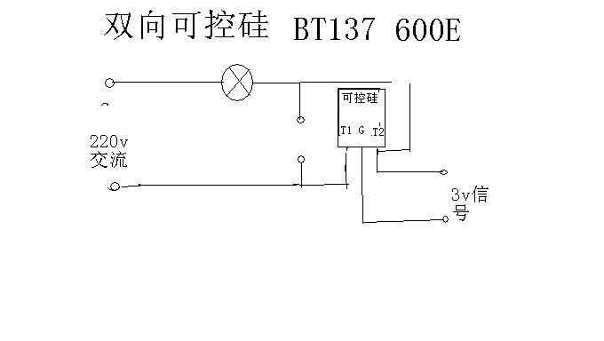 请问我想用3v左右(或小于3)的信号控制220v的交流电的通导该选什么