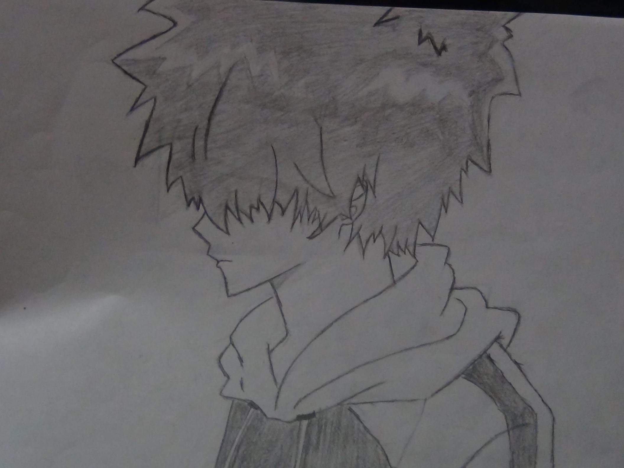 手绘动漫人物头的阴影部分怎么画?