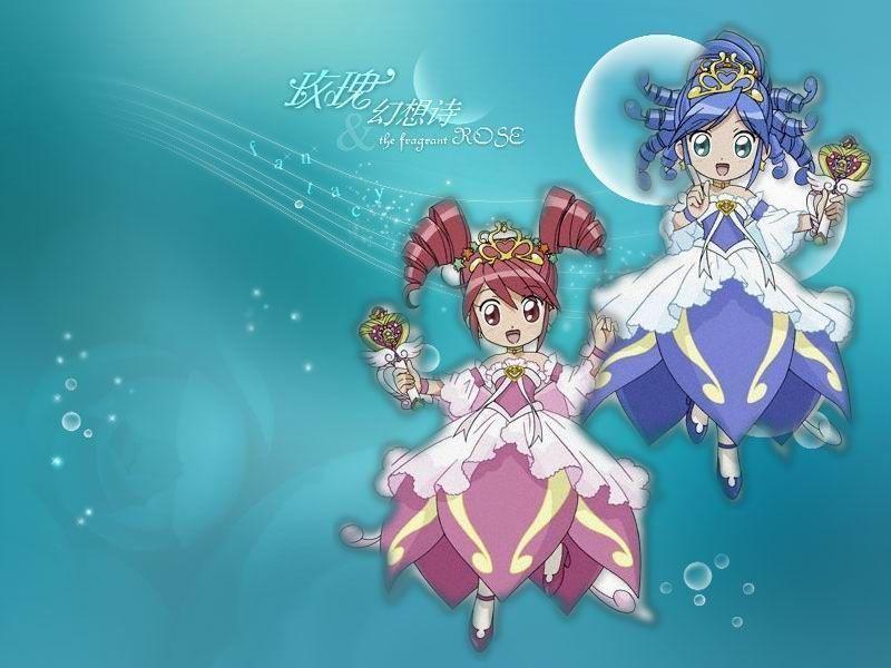 《神秘星球孪生公主》  也叫《双子星公主》或《不可思议的双生公主》