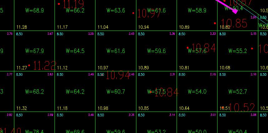 CAD公式网行走方格快速flash计算绘制的图片