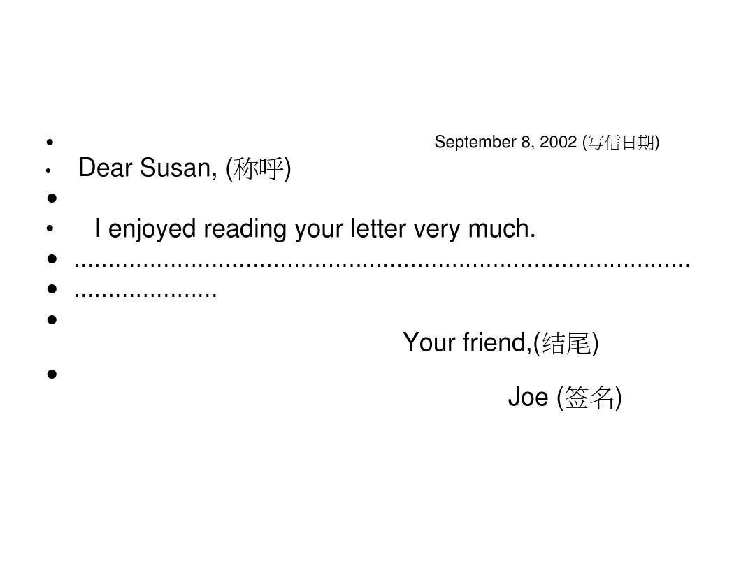 英语书信格式有关,要回一封邮件给外国老师,求合适的开头和落款…见图片
