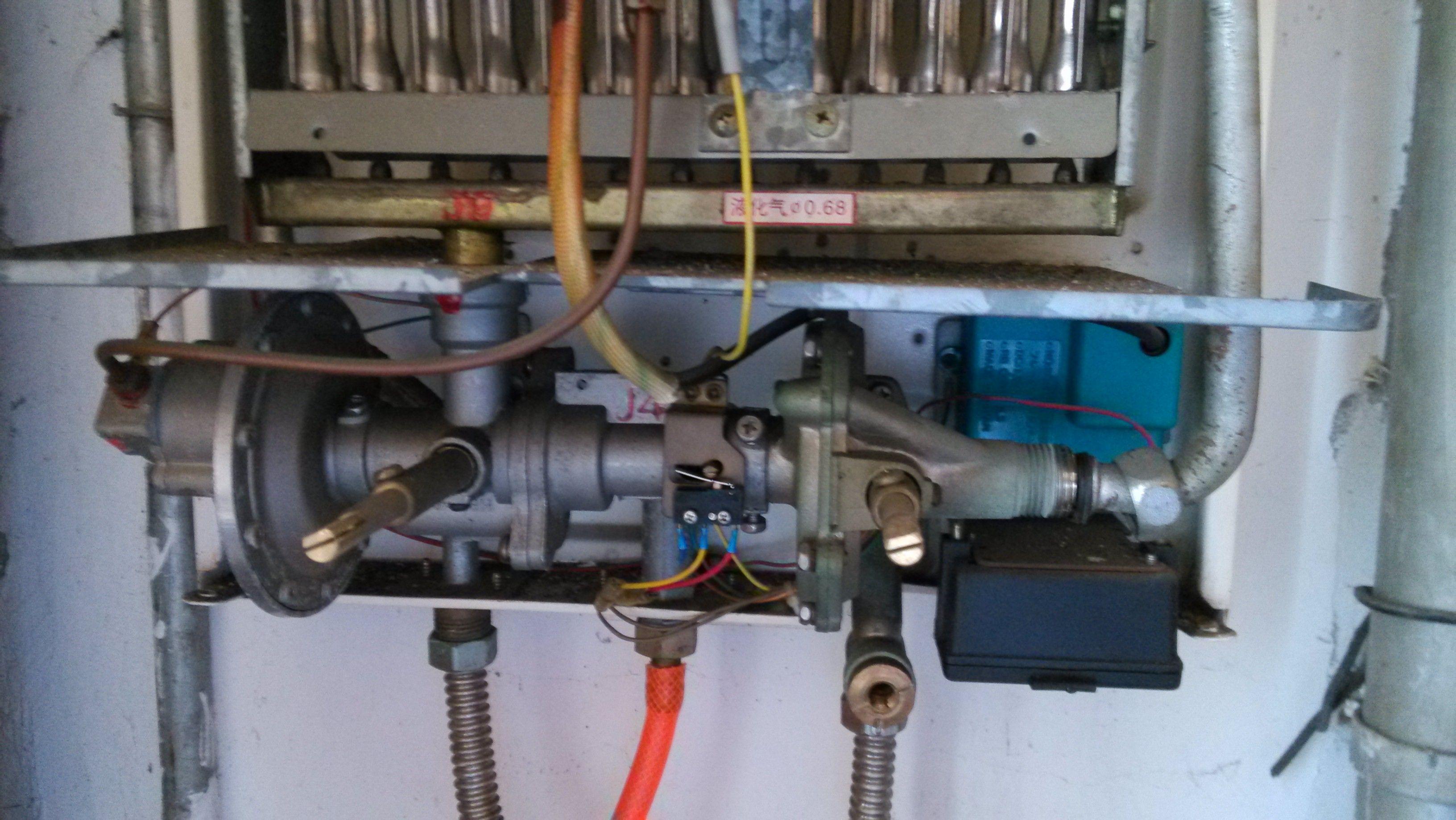 关于热水器水气联动阀图片