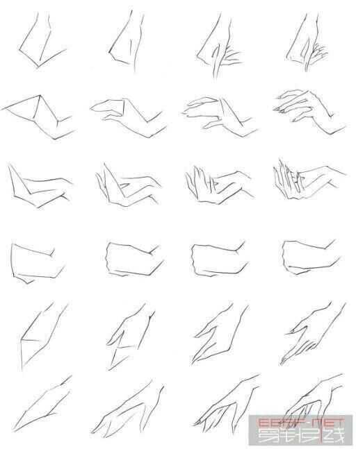 动漫人物各种鞋子和手指动作的图片?