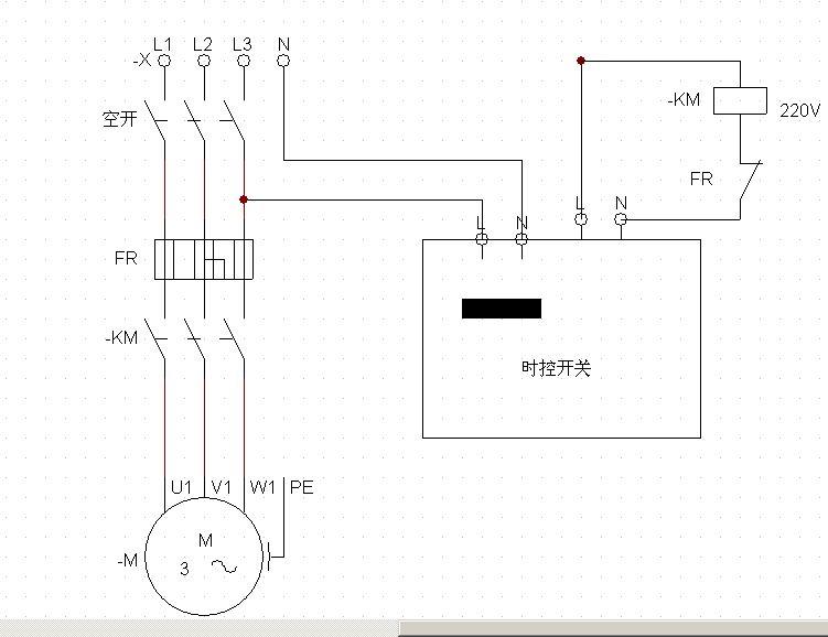 220v直流马达 电路图