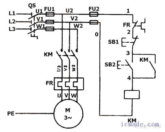 三相异步电机可以直接接电源启动吗?转速又是多少?