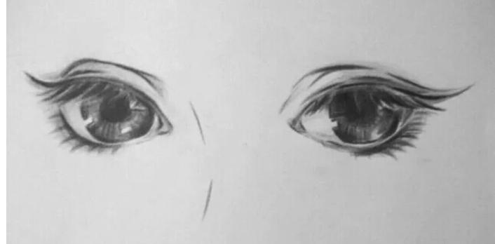 古风唯美眼睛怎么画