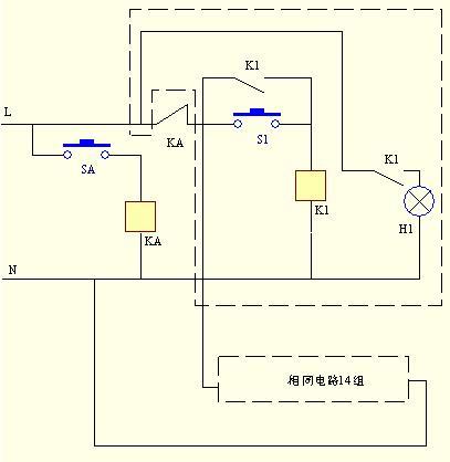 【求助】设计个电路图,由轻触开关a和3x5的按键开关(也是轻触的)共同