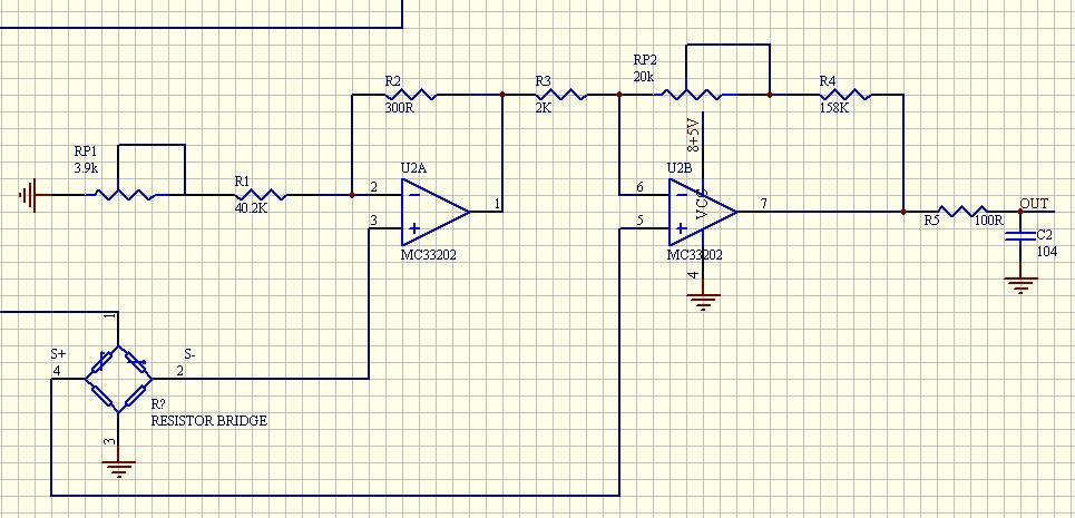 追问 差模信号 5-50mv  要放大成0.5-4.
