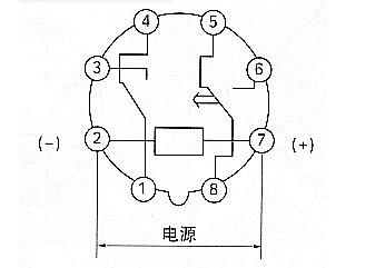 8孔延时开关如何接线.