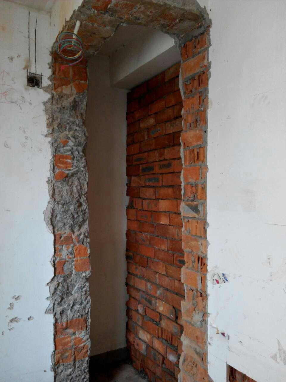 请专业人士说下我的房子是砖混结构还是框架结构,房子