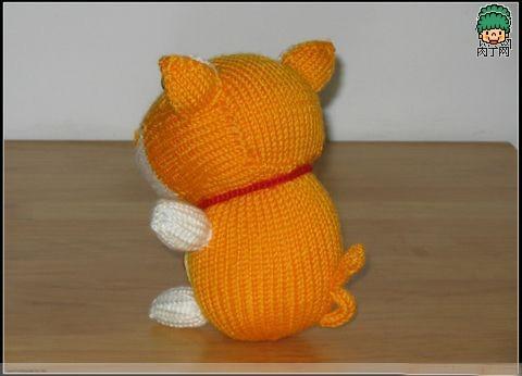 小猪织法_如何用毛线编织小猪小龟等动物