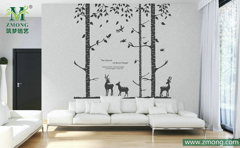 客厅做硅藻泥沙发背景墙可以吗,有什么要注意