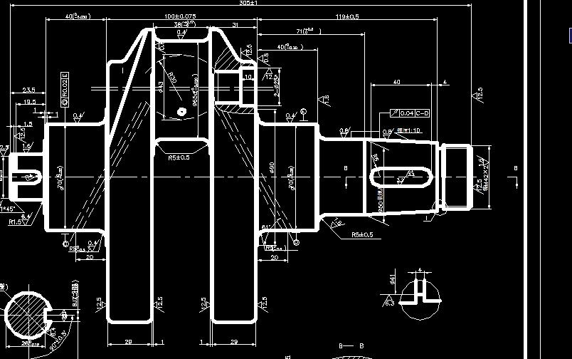s195柴油机曲轴钻夹具设计图