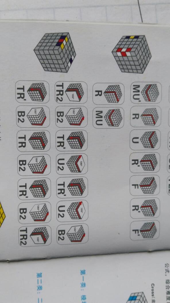 5阶魔方还原最后一个棱怎么转?公式是?用文字,ur什么的看不懂.
