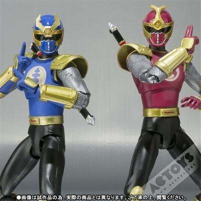 说到兄弟我就想到了超级战队《忍风战队破里剑者》,日文名:《忍风戦队