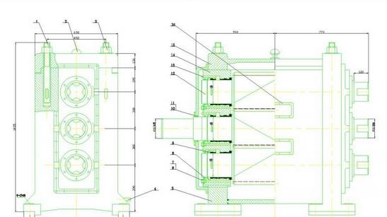 求小型轧钢机的毕业设计的轧钢机的主体结构设计详细图解.