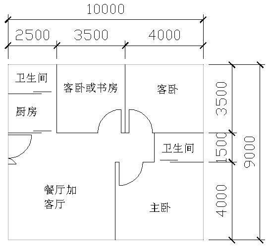 求房子布局设计图,最好有经验的帮忙一下,房子大小是9图片