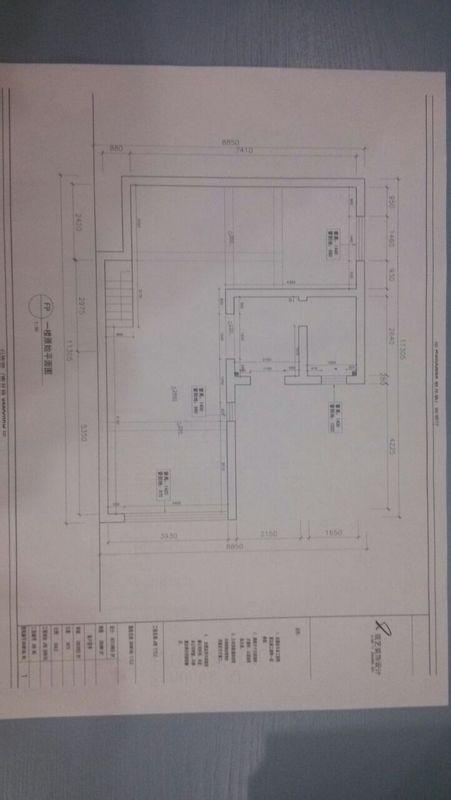 HP7110打印机CAD打印出来的电磁左右两边边图纸枪图纸图片