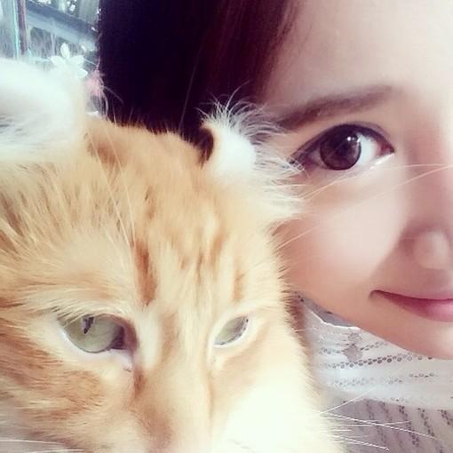 黑白情侣头像,女的肩膀上有只猫