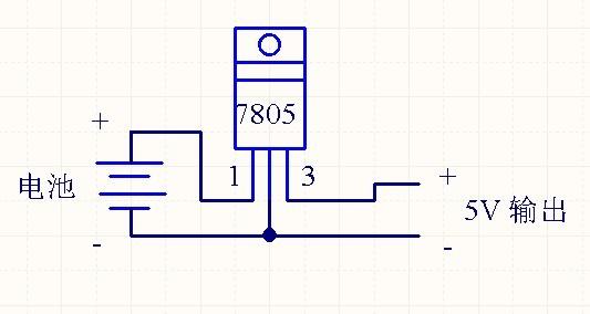 求一个摩托车电池12v转手机充电器的电路图!