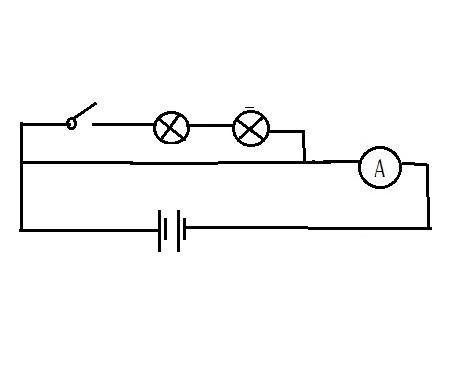 一道物理题,画出这个的电路图