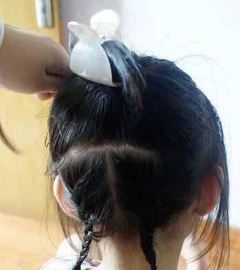适合13岁女孩的发型,要图片和绑法图片