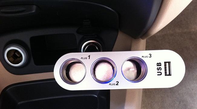 怎么加装12v汽车点烟器需要怎么接线