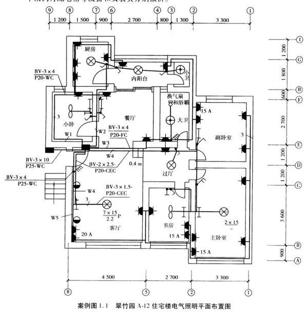 建筑施工图纸图纸看连线布管?有图怎么机械折叠电工图片